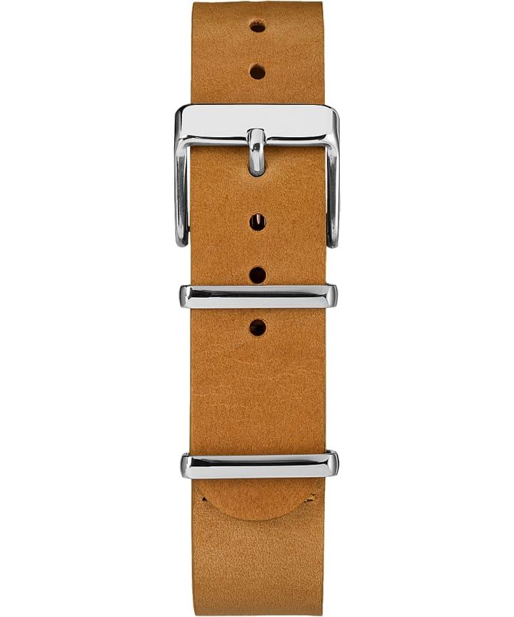 18mm Slip Thru Leather Strap 2  large