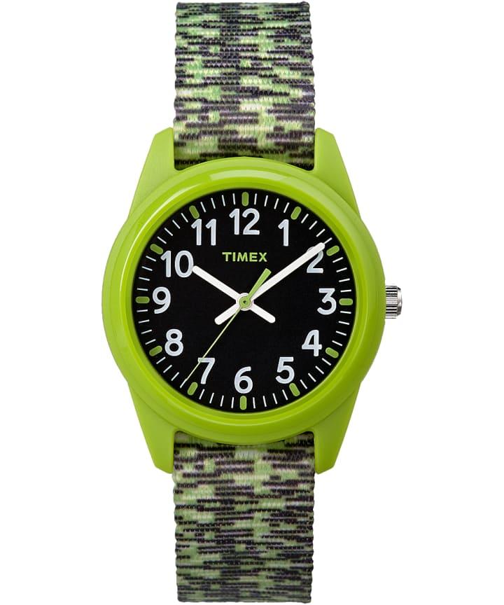 Kids Analog 32mm Digipattern Nylon Strap Watch  large