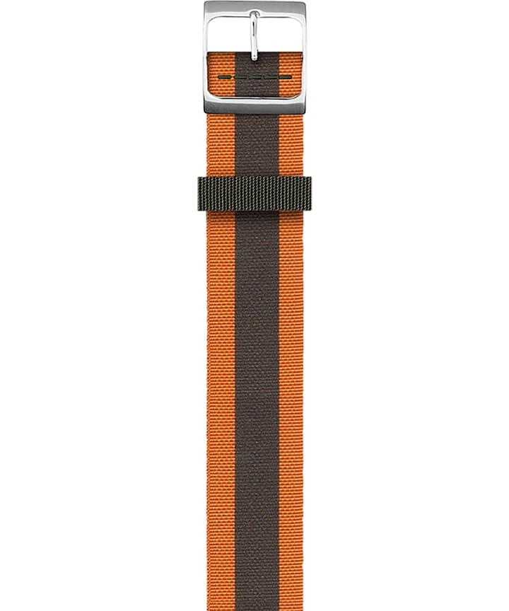 Reversible Double Weave Strap Orange large