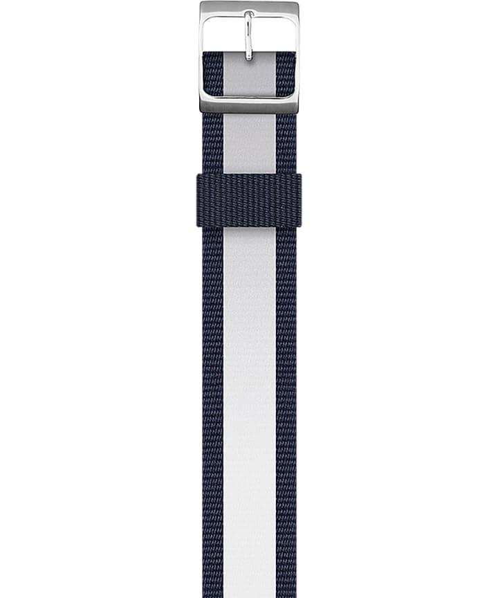 Reversible Double Weave Strap Blue large