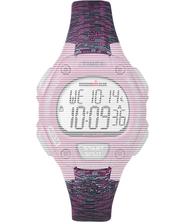 Replacement 14mm Resin Strap for Ironman® Classic 30 Mid-Size Pink large