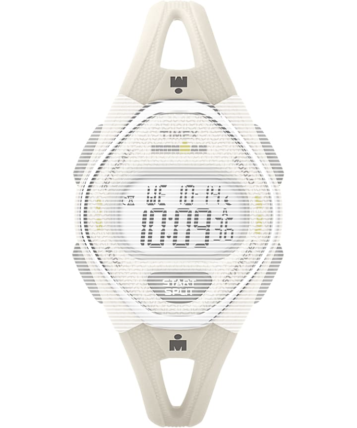 Replacement 14mm Silicone Strap for Ironman® Sleek 50 Mid-Size White large