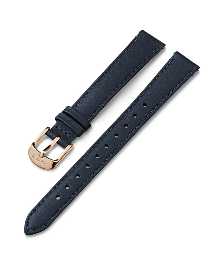 14mm Leather Strap Blue large