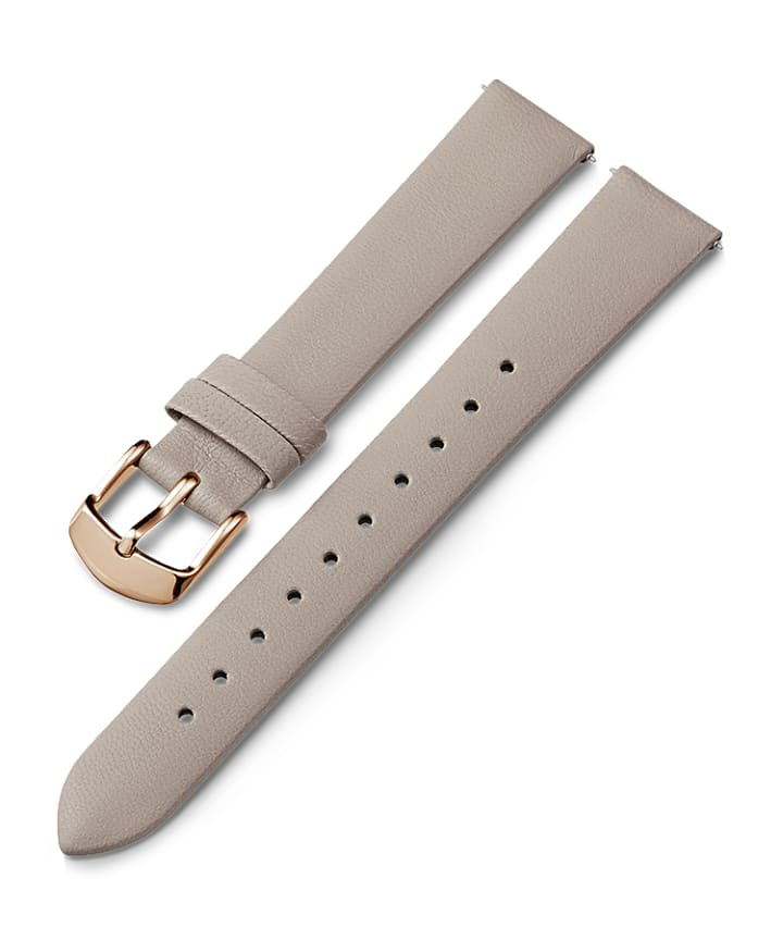 16mm Leather Strap Gray large