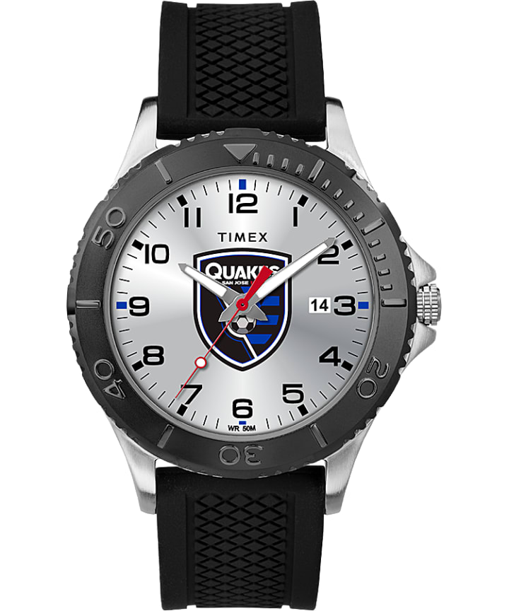 Gamer Black San Jose Earthquakes  large