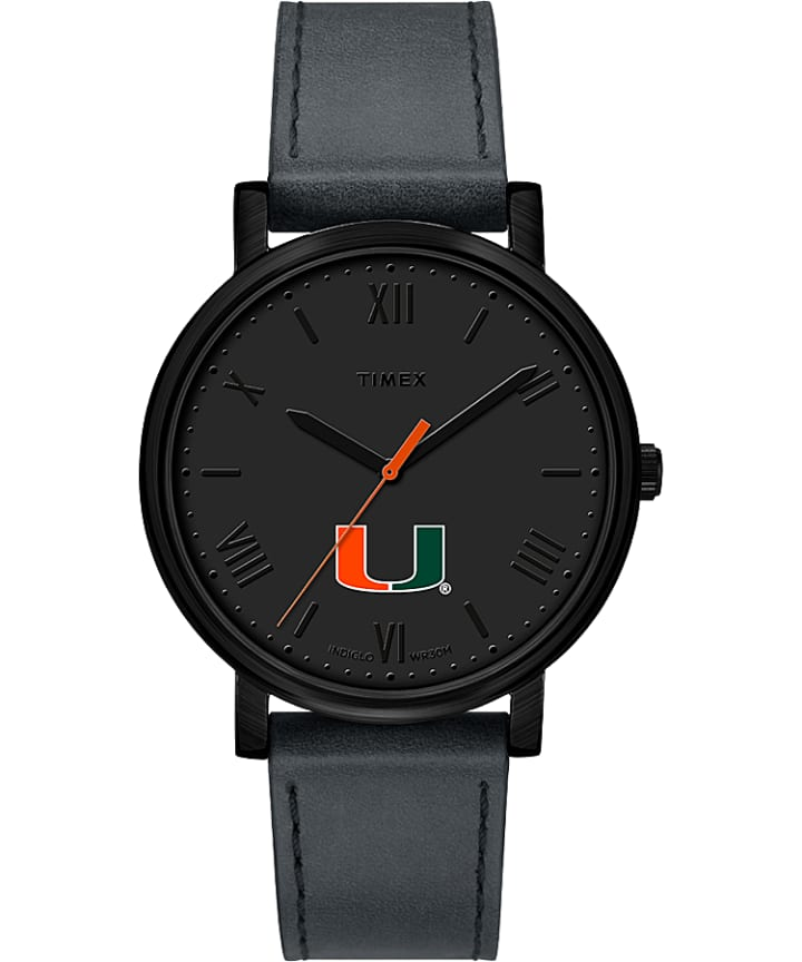 Night Game Miami Hurricanes  large