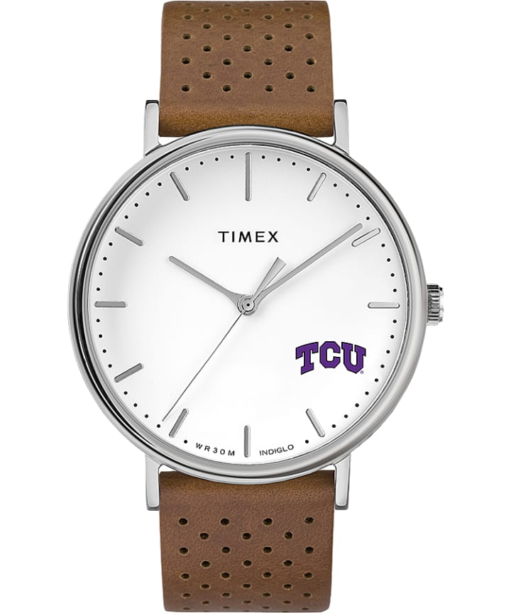 Bright Whites Texas Christian University Horned Frogs  large