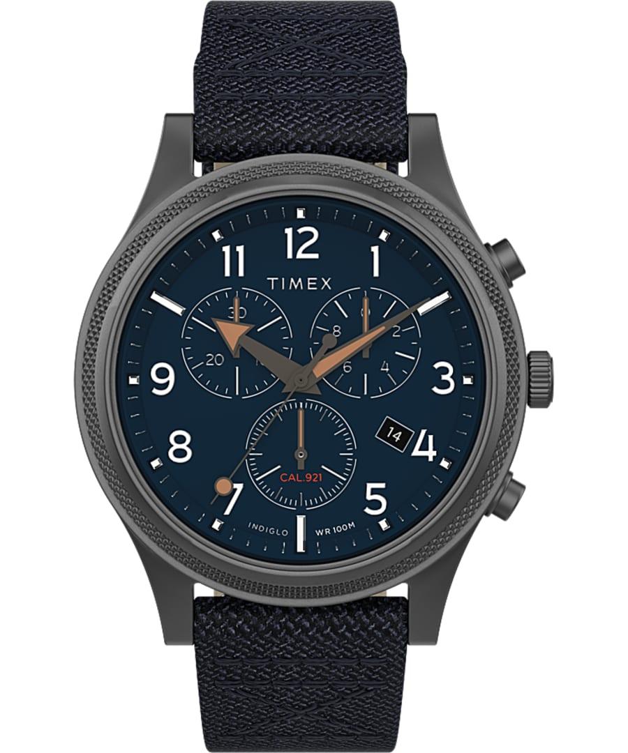 Allied LT Chronograph 42mm Fabric Strap Watch