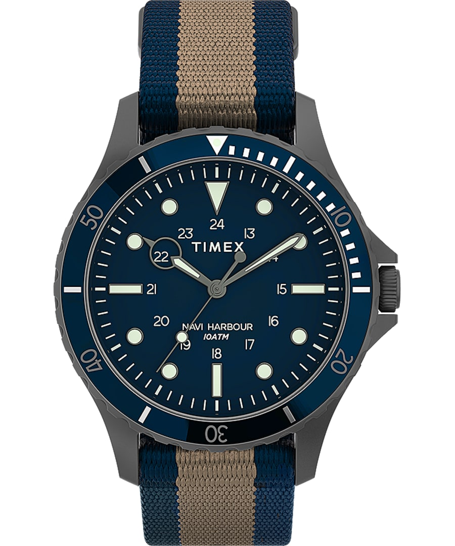 Navi XL 41mm Fabric Strap Watch
