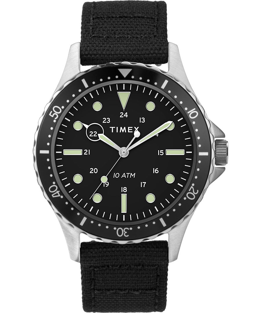 Navi XL with Timex Pay 41mm Fabric Strap Watch
