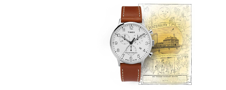 Waterbury Classic Chrono Watch.