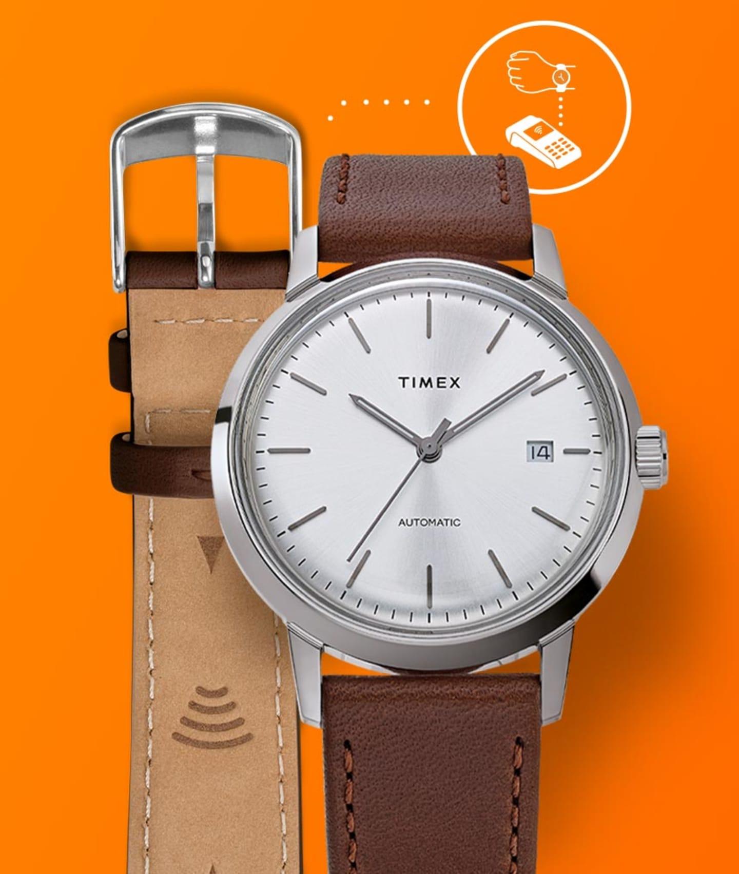 Timex Pay Watch.