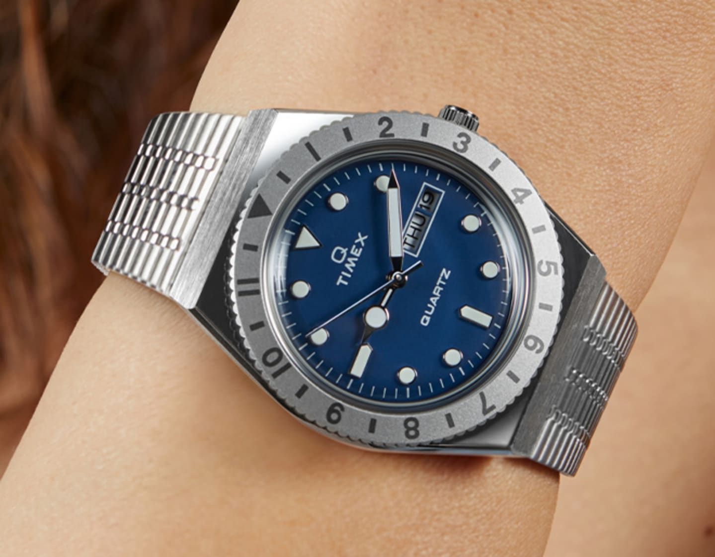 Blue Lady Q Watch.
