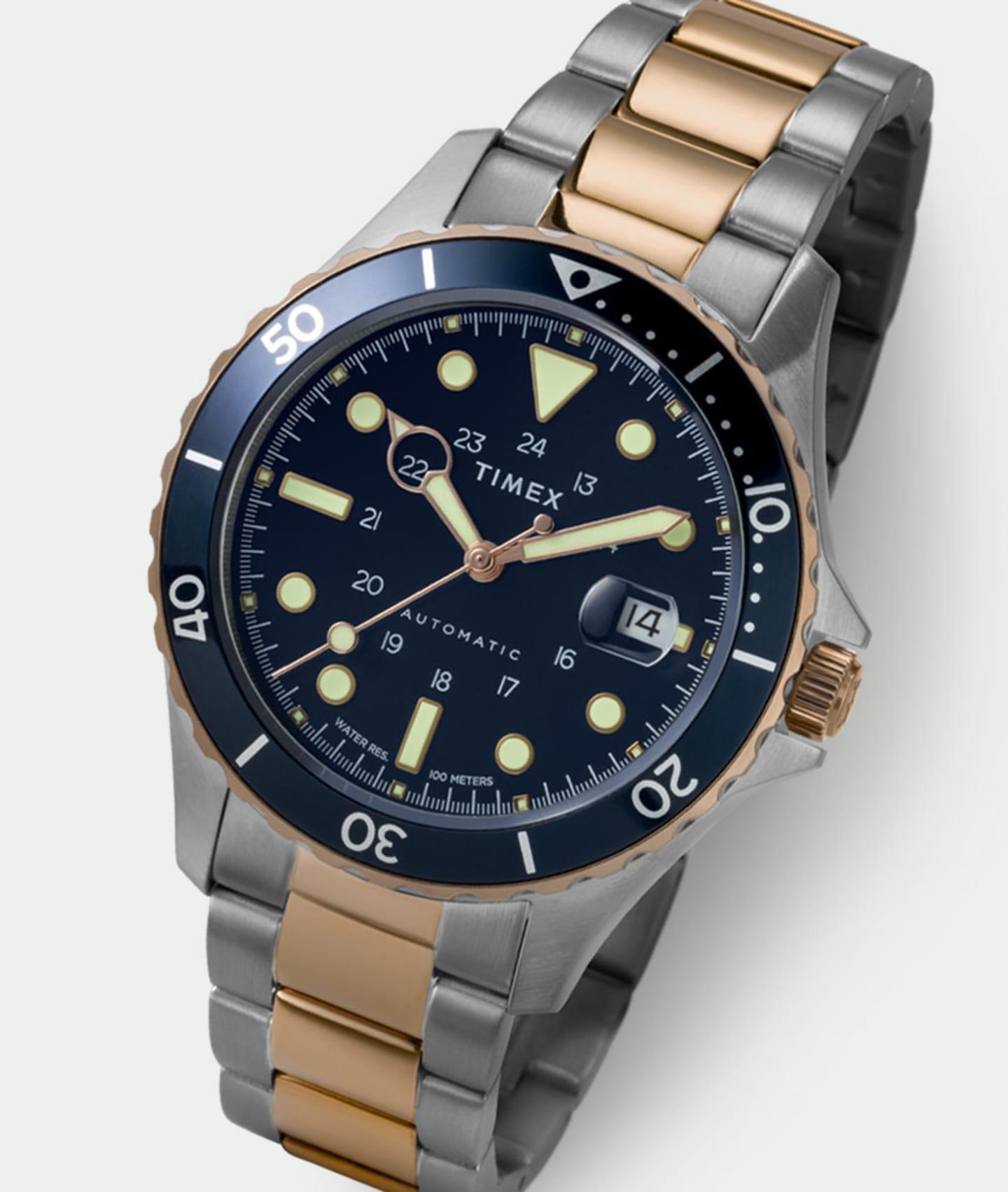 Navi XL Stainless Steel Watch.