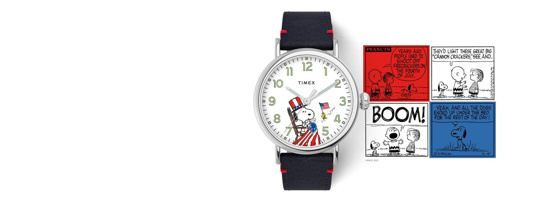 Snoopy USA Watch.
