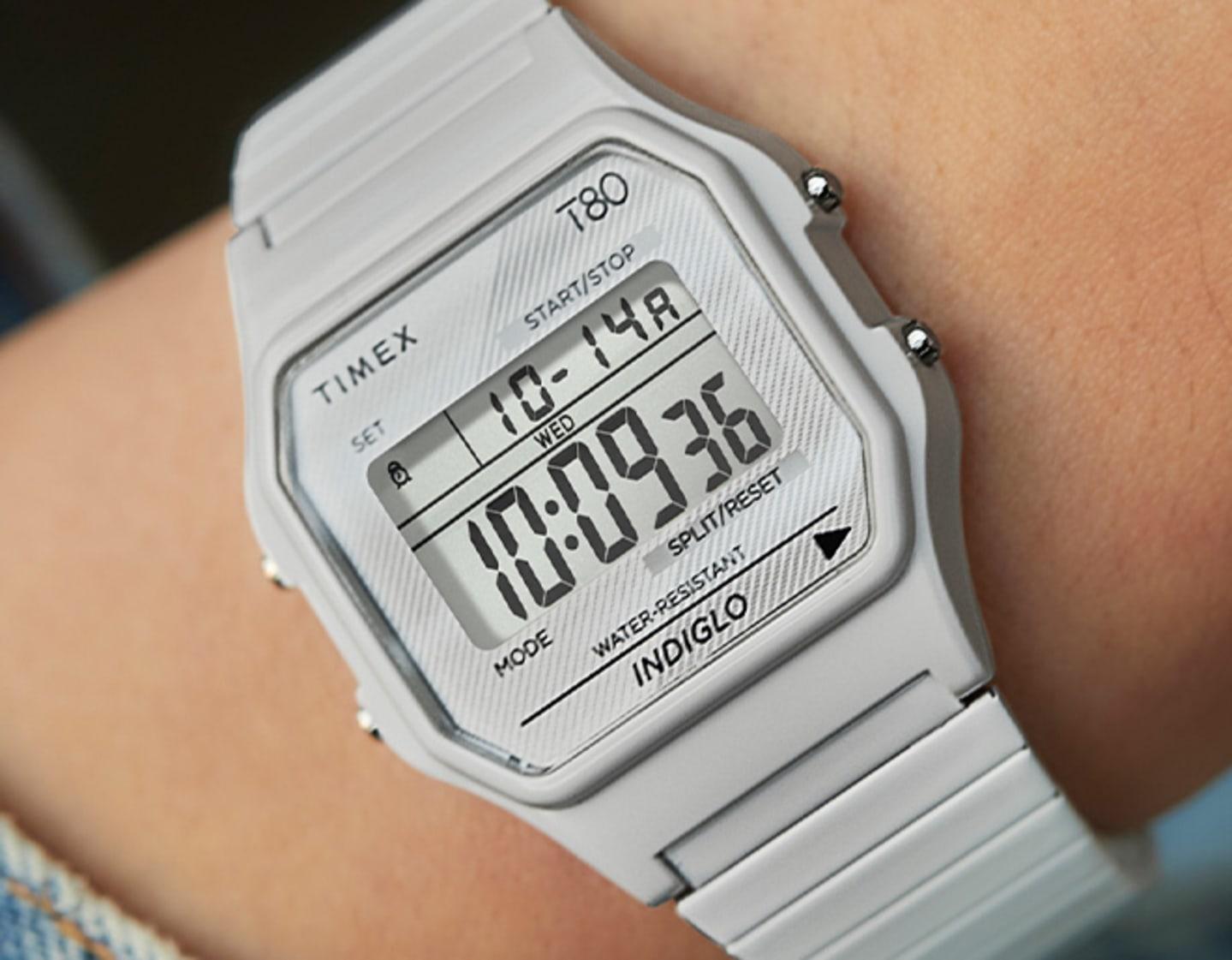T80 White Watch.