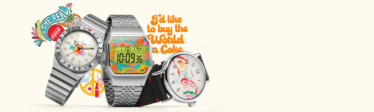 Timex x Coca-Cola Watch Coming Soon.