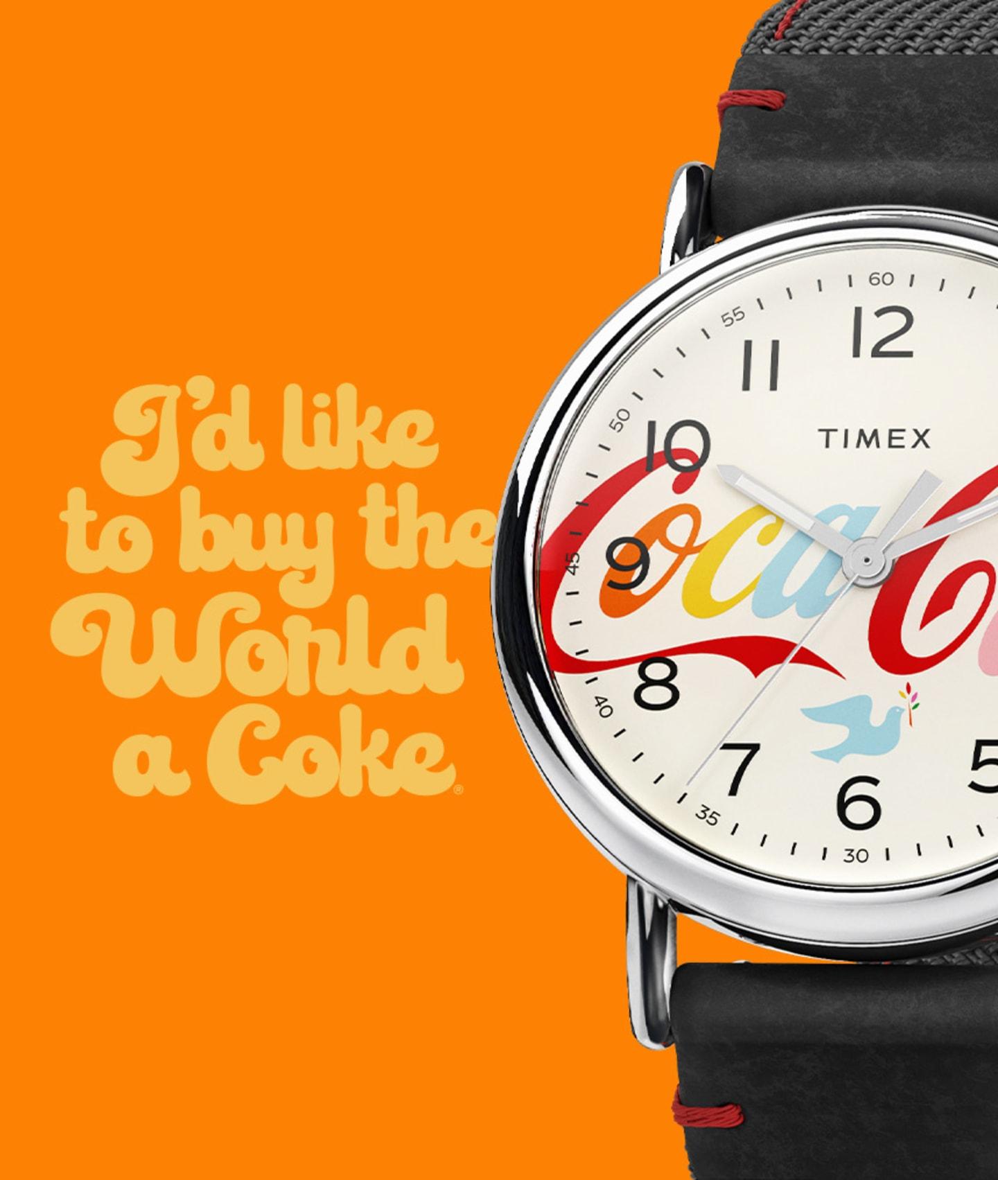 Timex x Coca-Cola Standard Watch.