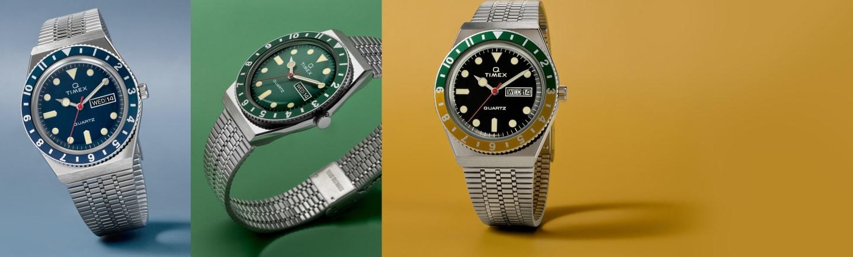 Q Diver New Color Watch.