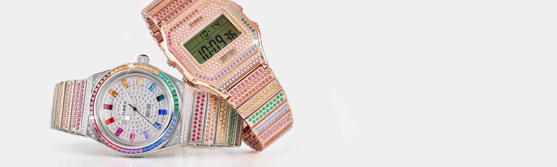 Timex x Judith Leiber Watch.
