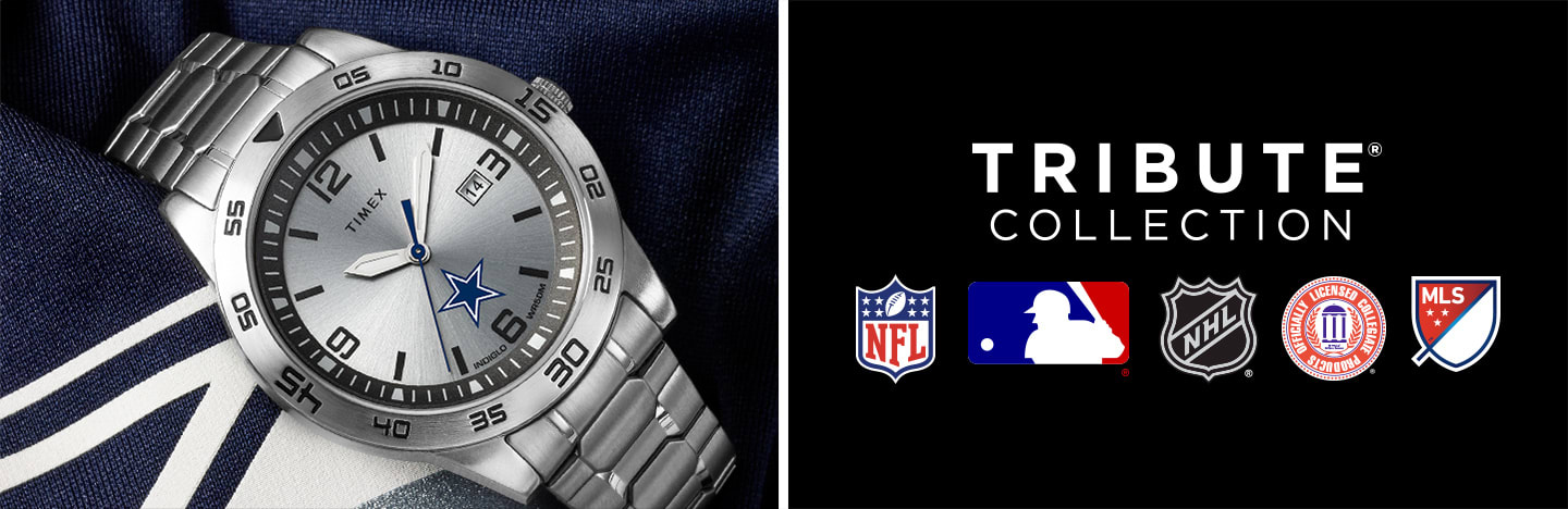 Timex Tribute Collection Watches of NFL MLB NHL NCAA MLS Teams