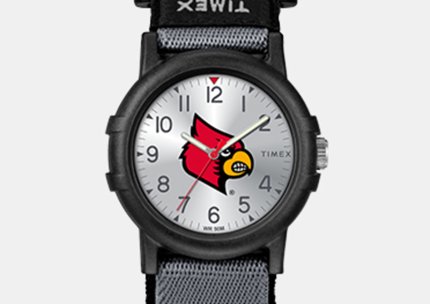 All Black Youth Watch With Cardinals Logo In The Center