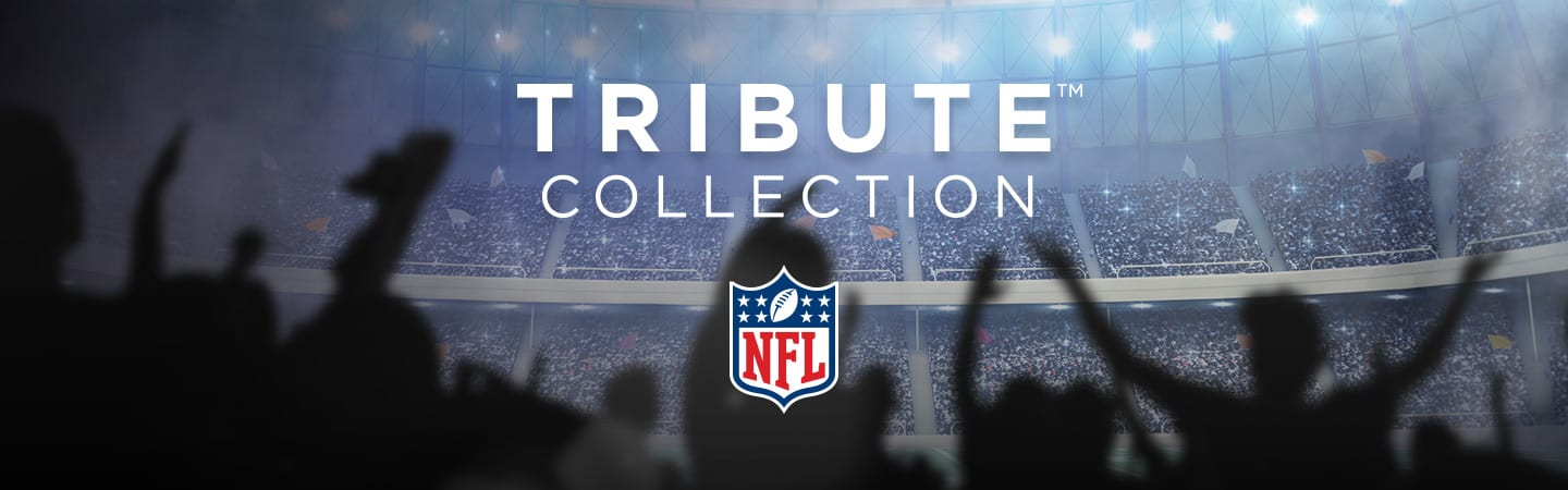 NFL Logo With Title Saying Tribute Collection