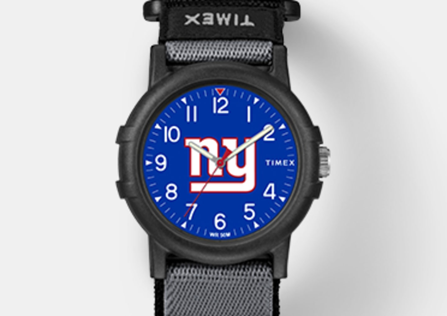 Black Youth Giants Watch With Blue Center And Giants Logo In Center