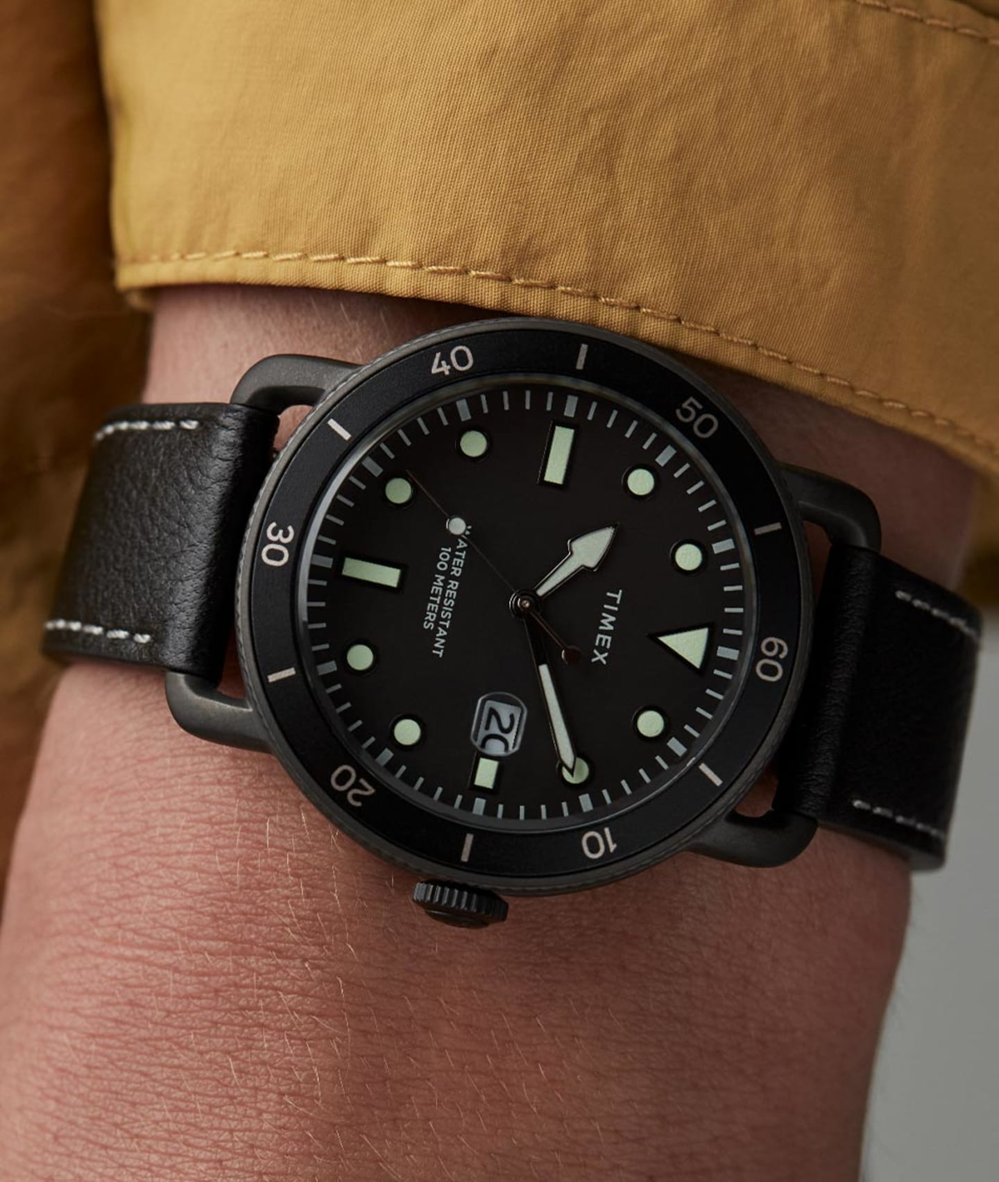 Men wearing Port Watch.