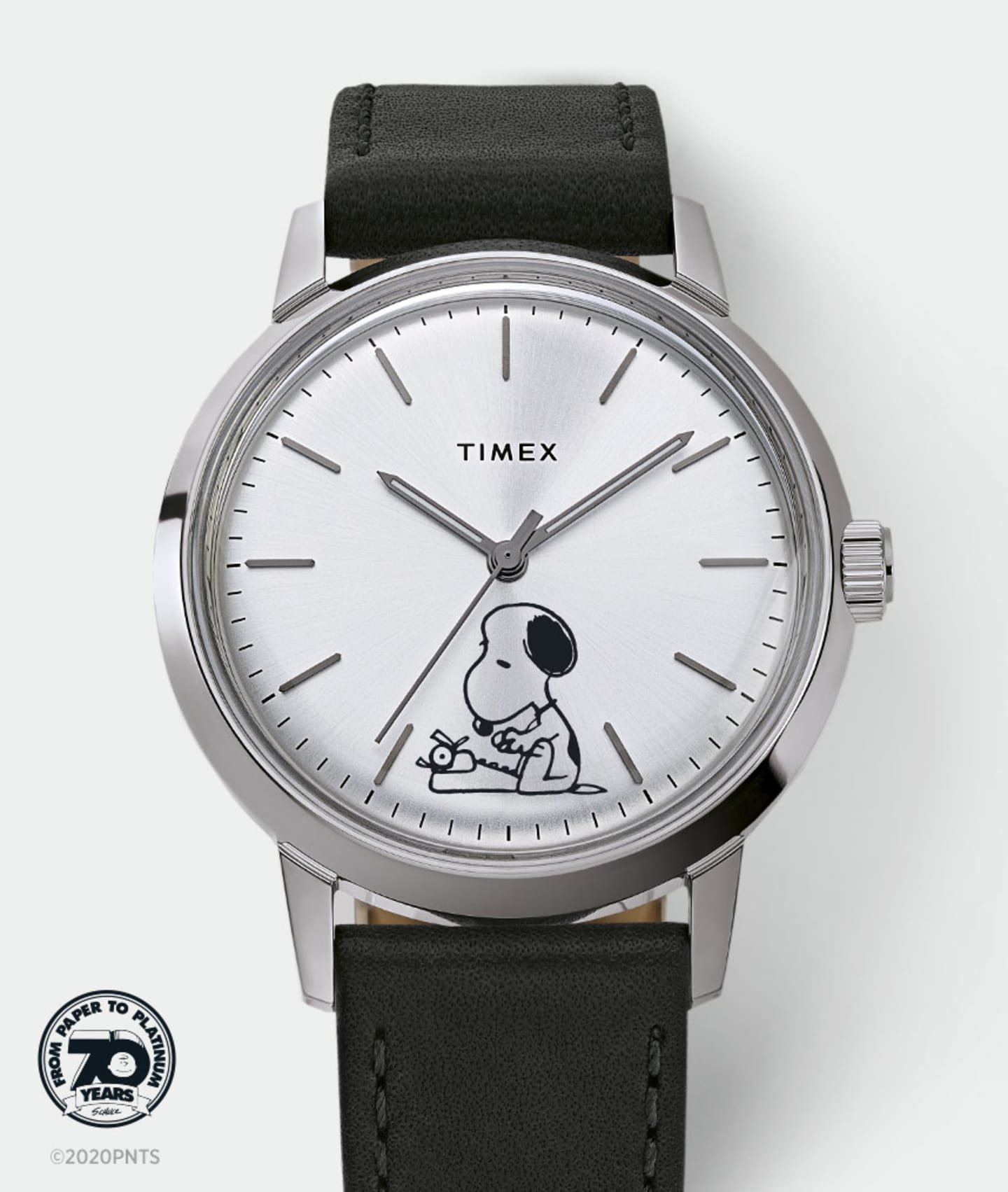 Marlin Snoopy Typing Watch.