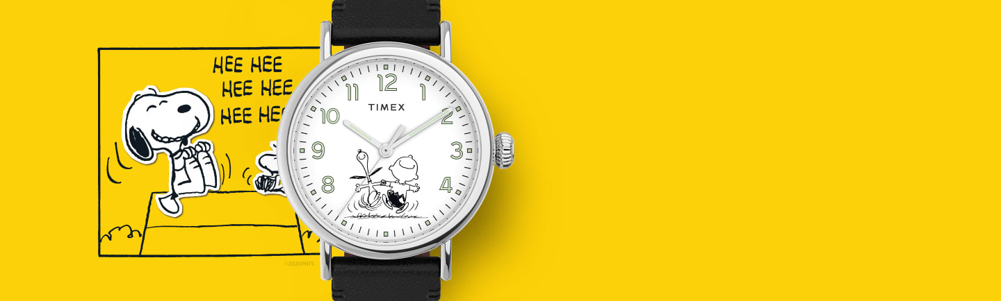 Standard Snoopy 70th Anniversary Watch.