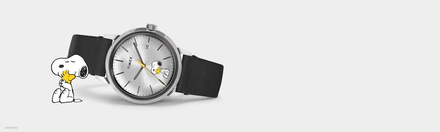Marlin Automatic Snoopy Watch.