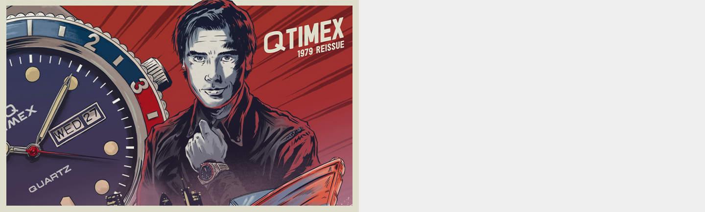 Q Timex Reissue Watch.