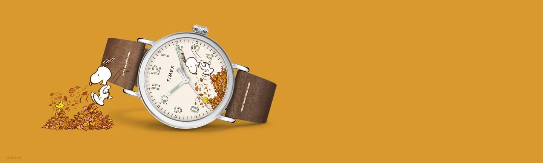 Standard Snoopy Autumn Watch.