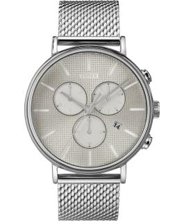 Fairfield Supernova 41mm Mesh Bracelet Watch Silver-Tone/Stainless-Steel large