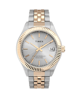 Waterbury Legacy 34mm Stainless Steel Bracelet Watch Two-Tone/Silver-Tone large