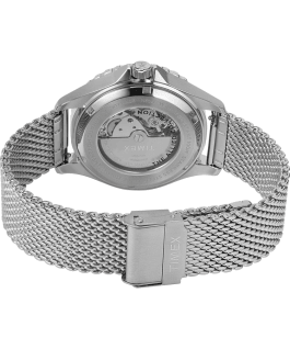 Navi XL Automatic 41mm Stainless Steel Mesh Band Watch Stainless-Steel/Blue large