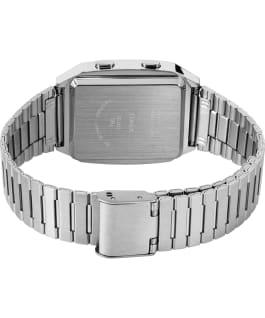 Q Timex Reissue Digital LCA 32.5mm Stainless Steel Bracelet Watch Stainless-Steel large