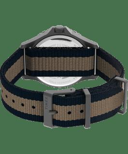 Navi XL 41mm Fabric Strap Watch Gunmetal/Blue large