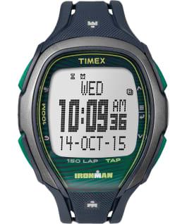 IRONMAN Sleek 150 46mm Resin Strap Watch Blue/Green/Gray large