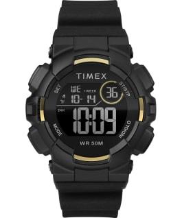 Mako DGTL 44MM Resin Strap Digital Watch Black/Gold-Tone large