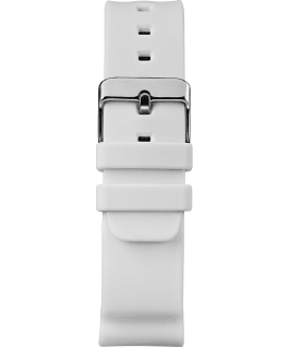 Mako DGTL 44MM Resin Strap Digital Watch White/Silver-Tone large