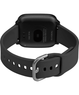 iConnect by Timex Active 37mm Resin Strap Smartwatch Black large
