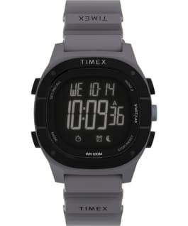 Command LT 40mm Silicone Strap Watch Gray large