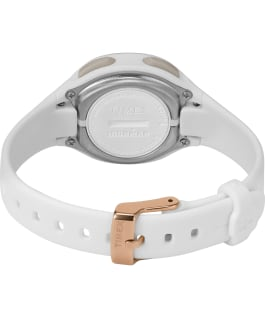 TIMEX IRONMAN Transit+ 33mm Resin Strap Activity and Heart Rate Watch White/Rose-Gold-Tone large