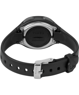 TIMEX IRONMAN Transit+ 33mm Resin Strap Activity and Heart Rate Watch Black/Silver-Tone large