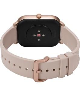 Timex Metropolitan S 36mm Silicone Strap Watch Rose-Gold-Tone/Pink large