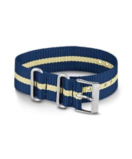 20mm Nylon Strap 2 Blue large