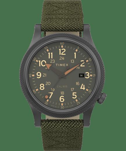 Allied LT 40mm Fabric Strap Watch