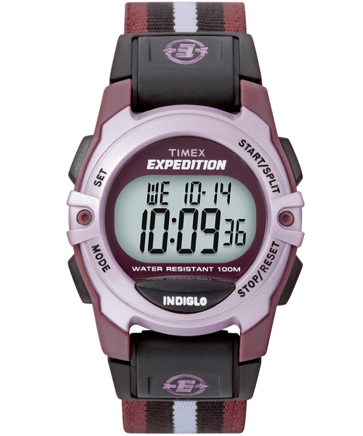 Expedition Chrono-Alarm-Timer 33mm Nylon Strap Watch  large